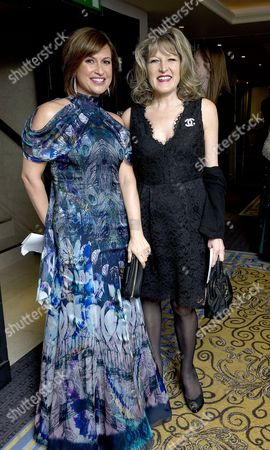 Daily Mail and Wellbeing of Women Inspirational Woman of the Year Awards at the Marriott Hotel Grosvenor Square Emma Forbes and Amanda Ross