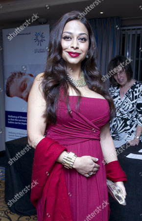 Daily Mail and Wellbeing of Women Inspirational Woman of the Year Awards at the Marriott Hotel Grosvenor Square Ayesha Dharker