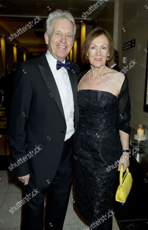 Daily Mail and Wellbeing of Women Inspirational Woman of the Year Awards at the Marriott Hotel Grosvenor Square Nicholas Owen and His Wife Brenda