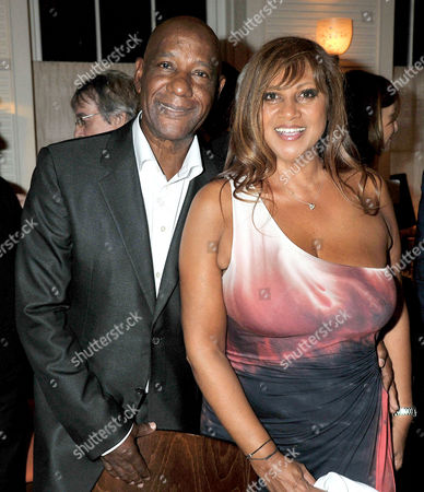 80th Birthday at '34' South Audley Street Mayfair Errol Brown with His Wife Jeanette