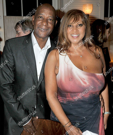 Stock Photo of 80th Birthday at '34' South Audley Street Mayfair Errol Brown with His Wife Jeanette