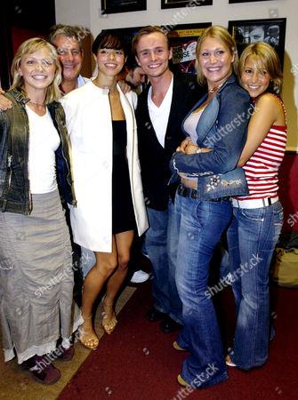 'Les Miserables' Cast Change First Night at the Palace Theatre Hannah Spearritt Cameron Mackintosh Tina Barrett Jon Lee Jo O'meara Rachel Stevens