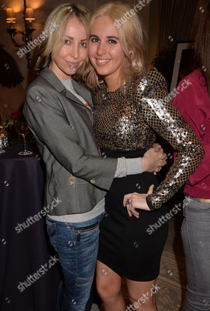 Kate Moss at the Savoy Exhibition and Auction of Never Seen Photographs in Aid of Shooting Star Chase Children's Hospital at the Savoy Hotel Natalie Appleton with Her Daughter Rachel Howlett