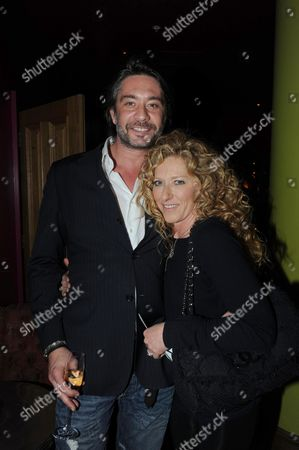 Kelly Hoppen's Home Style' Iphone App Launch at the Soho Hotel Dean Street Kelly Hoppen with Her Partner Adam Meiklejohn