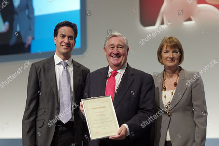 The 2011 Labour Conference Liverpool Scenes at Conference Ed Miliband Mp Geoffrey Robinson & Hariett Harman
