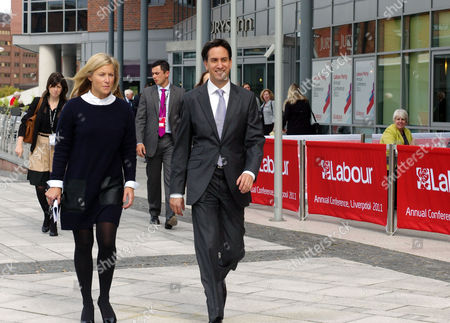 The 2011 Labour Conference Liverpool Scenes at Conference Rachel Kinnock & Ed Miliband Mp