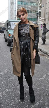 London Fashion Week 2012 Henry Holland Arrivals at Goldsmith Hall City of London Willa Keswick