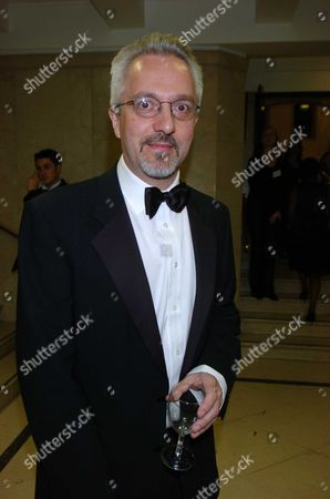 The Man Booker Prize For Fiction 2004 at the Royal Horticultural Halls Greycoat Street London Alan Hollinghurst This Years Winner For His Novel 'The Line of Beauty
