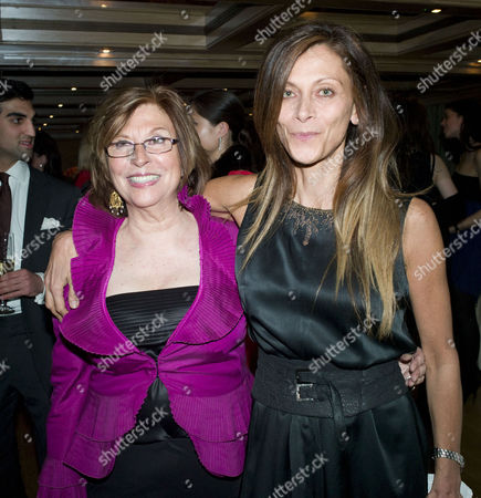 Stock Picture of Marefat Dinner at the Connaught Hotel Christa D'souza with Her Mother