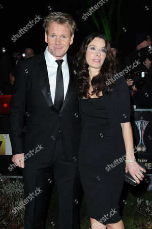 Military Awards (millies) at the Imperial War Museum Gordon Ramsay with His Wife Tana Ramsay