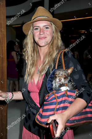 Mint Polo in the Park at Hurlingham Park and Afterparty at the Hurlingham Club Fulham Annabel Simpson with Her Pet Dog Coco