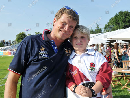 Mint Polo in the Park at Hurlingham Park and Afterparty at the Hurlingham Club Fulham Jack Kidd and His Eldest Son John