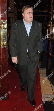 Memorial Service For Mo Mowlam at the Theatre Royal Drury Lane London John Prescott