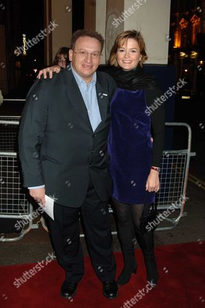 Memorial Service For Mo Mowlam at the Theatre Royal Drury Lane London P Y Gerbeau with His Wife Kate Sanderson
