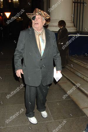 Memorial Service For Mo Mowlam at the Theatre Royal Drury Lane London George Melly