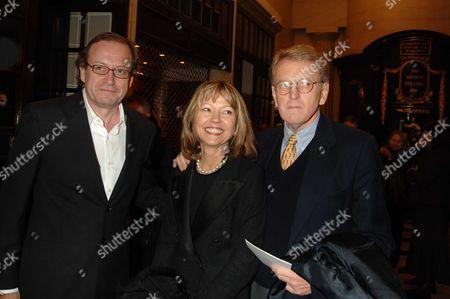 Memorial Service For Mo Mowlam at the Theatre Royal Drury Lane London John Norton Sir Christopher & Lady Meyer