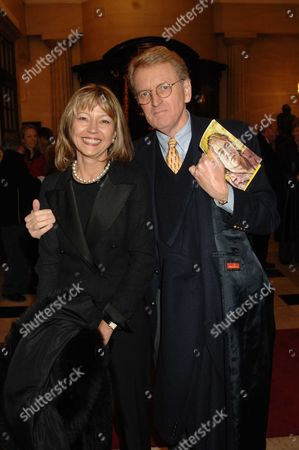 Memorial Service For Mo Mowlam at the Theatre Royal Drury Lane London Sir Christopher & Lady Meyer
