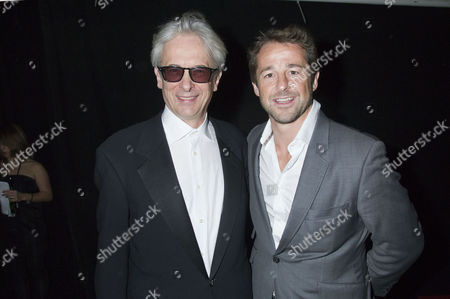 Stock Picture of Moet British Independent Film Awards at Old Billingsgate Market Elliot Grove and Andy Gomarsall