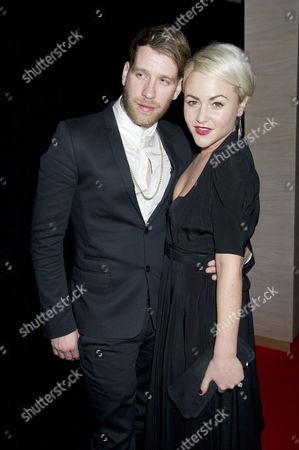 Moet British Independent Film Awards at Old Billingsgate Market Jaime Winstone with Her Boyfriend Tom Beard
