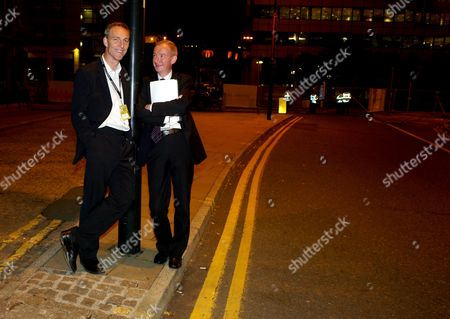 The 2010 Labour Conference at the Manchester Central Convention Complex Greater Manchester Uk Monday Night Parties Around the Conference Area Jim Murphy Mp & Pat Mcfadden Mp