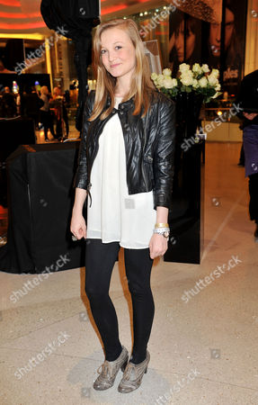 Fashion For Relief Pop-up Shop Opening Party at Westfield Shopping Centre Shirley Eaton's Granddaughter Jessica Rowe