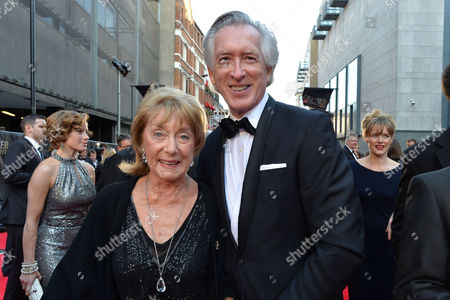 Olivier Awards Reception and Auditorium 2014 at the Royal Opera House Gillian Lynne and Peter Land