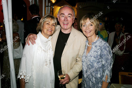 Opening Night For 'The Secret of Sherlock Holmes' at the Duchess Theatre and Aftershow Drinks Party at Pj's Grill Covent Garden Alexandra Bastedo Peter Egan and Lucy Fleming