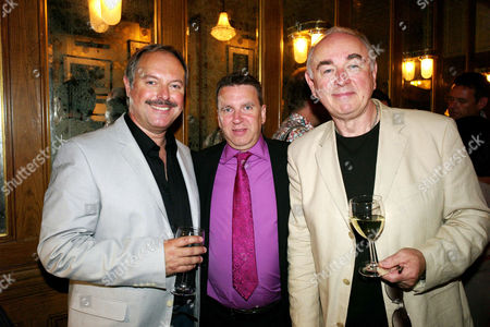 Opening Night For 'The Secret of Sherlock Holmes' at the Duchess Theatre and Aftershow Drinks Party at Pj's Grill Covent Garden Robert Daws Ian Fricker and Peter Egan