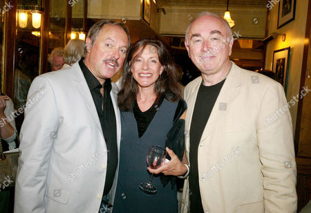 Opening Night For 'The Secret of Sherlock Holmes' at the Duchess Theatre and Aftershow Drinks Party at Pj's Grill Covent Garden Robert Daws Belinda Lang and Peter Egan