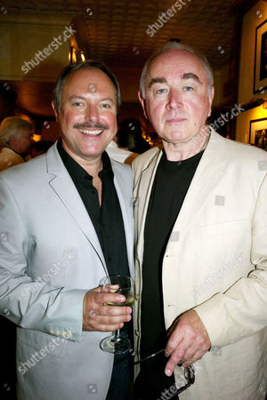 Opening Night For 'The Secret of Sherlock Holmes' at the Duchess Theatre and Aftershow Drinks Party at Pj's Grill Covent Garden Robert Daws and Peter Egan