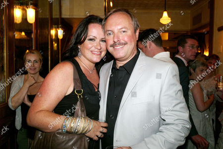 Opening Night For 'The Secret of Sherlock Holmes' at the Duchess Theatre and Aftershow Drinks Party at Pj's Grill Covent Garden Robert Daws with His Wife Amy