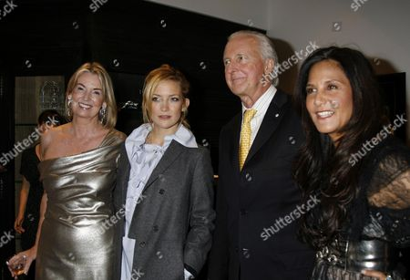 Opening Party For 'The Wonder Room' at Selfridges Oxford Street Hilary Weston Kate Hudson Galen Weston & Laurie Lynn Stark