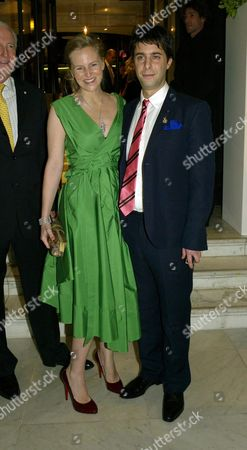 Opening Party For 'The Wonder Room' at Selfridges Oxford Street Alannah Weston with Her Husband Alexander Cochrane