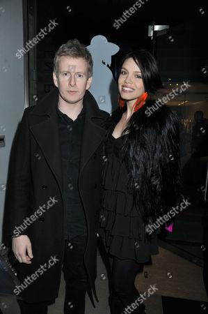 Oxygen Boutique - Pop-up Store Launch Duke of York Square Chelsea London Patrick Kielty & Alizee Gaillard