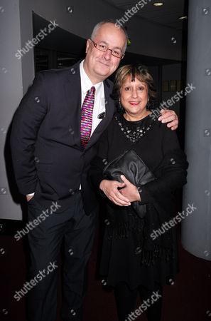 Paddy Power Political Book Awards at the Bfi Imax Cinema Waterloo London Iain Dale & Yasmin Alibhai-brown