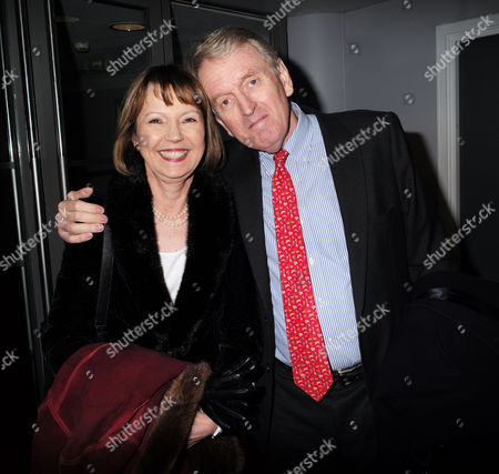 Paddy Power Political Book Awards at the Bfi Imax Cinema Waterloo London Sir Christopher Meyer with His Wife Lady Catherine Meyer