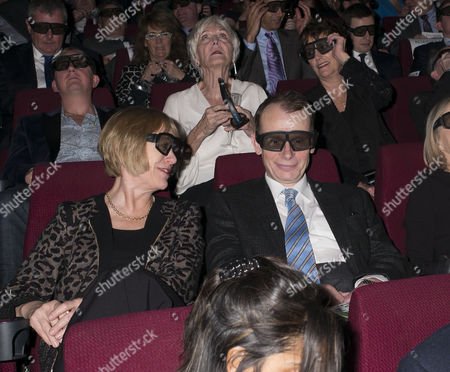 Stock Image of Paddy Power Political Book Awards at the Bfi Imax Cinema Waterloo London Andrew Marr and His Wife Jackie Ashley