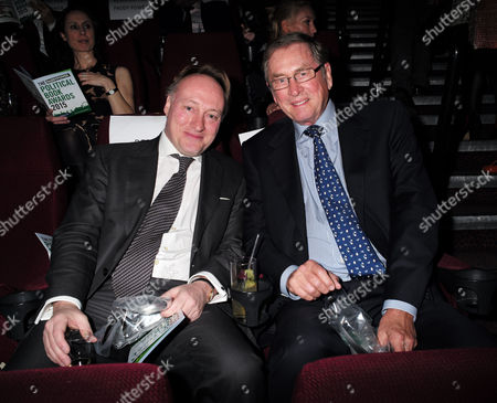 Paddy Power Political Book Awards at the Bfi Imax Cinema Waterloo London Andrew Roberts & Lord Michael Ashcroft