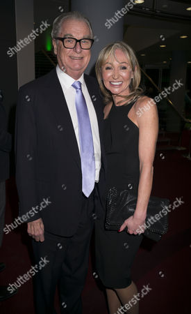Paddy Power Political Book Awards at the Bfi Imax Cinema Waterloo London Lord Tim Bell and His Partner Jackie Phillips