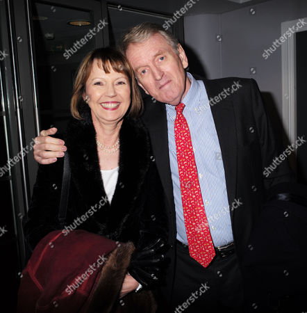 Stock Photo of Paddy Power Political Book Awards at the Bfi Imax Cinema Waterloo London Sir Christopher Meyer with His Wife Lady Catherine Meyer