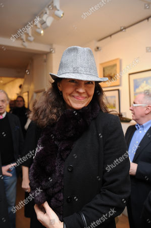 Painting & Watercolours Private View at Sladmore Contemporary Gallery Burton Place Berkeley Square London Jennifer Hall
