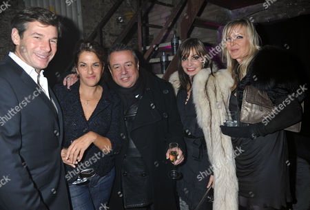 Party to Celebrate the Launch of Two New Jewellery Collections 'The 7 Deadly Sins' and 'No Regrets' at the Old Vics Tunnels Under Waterloo Station Hugh Morrison Tracey Emin Hamish Mcalpine with His Wife Carol Siller and Amanda Wakeley