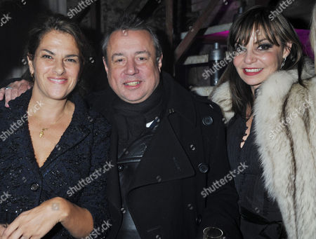 Party to Celebrate the Launch of Two New Jewellery Collections 'The 7 Deadly Sins' and 'No Regrets' at the Old Vics Tunnels Under Waterloo Station Tracey Emin Hamish Mcalpine with His Wife Carol Siller