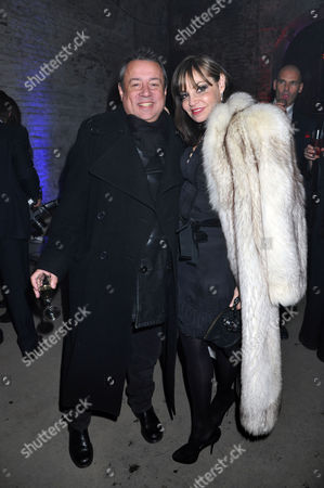 Party to Celebrate the Launch of Two New Jewellery Collections 'The 7 Deadly Sins' and 'No Regrets' at the Old Vics Tunnels Under Waterloo Station Hamish Mcalpine with His Wife Carol Siller