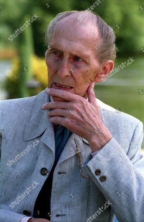 Portraits of Peter Cushing Taken During an Interview On Saving Bray Studios