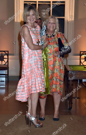 Party Before the Wedding of James Rothschild to Nicky Hilton at Spencer House St James Countess Maya Von Schoenburg and Dame Vivien Duffield