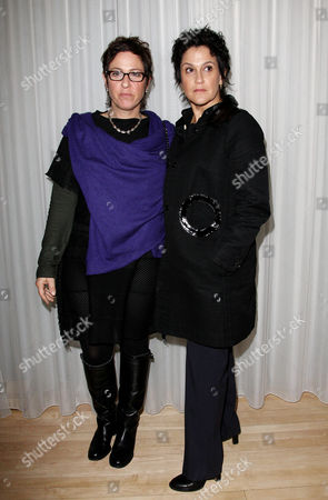 Premiere Afterparty For 'The Kids Are All Right' During the London Film Festival at the Sanderson Hotel Director Lisa Cholodenko with Her Partner Wendy Melvoin