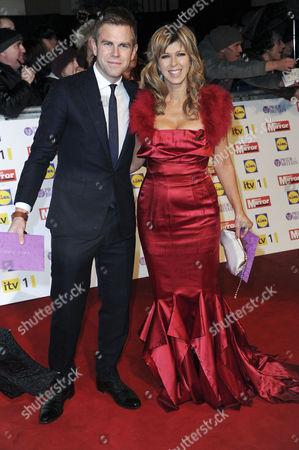 Pride of Britain Awards Arrivals at the Grosvenor House Hotel Dan Lobb and Kate Garraway