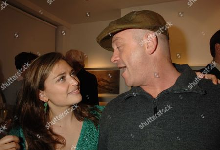 Private View at Eleven 11 Eccleston Street Shebah Ronay and Ross Kemp