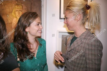 Private View at Eleven 11 Eccleston Street Shebah Ronay and Tamara Beckwith